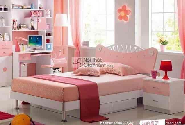 Tư vấn trang trí, thiết kế phòng ngủ đẹp cho bé gái (03)