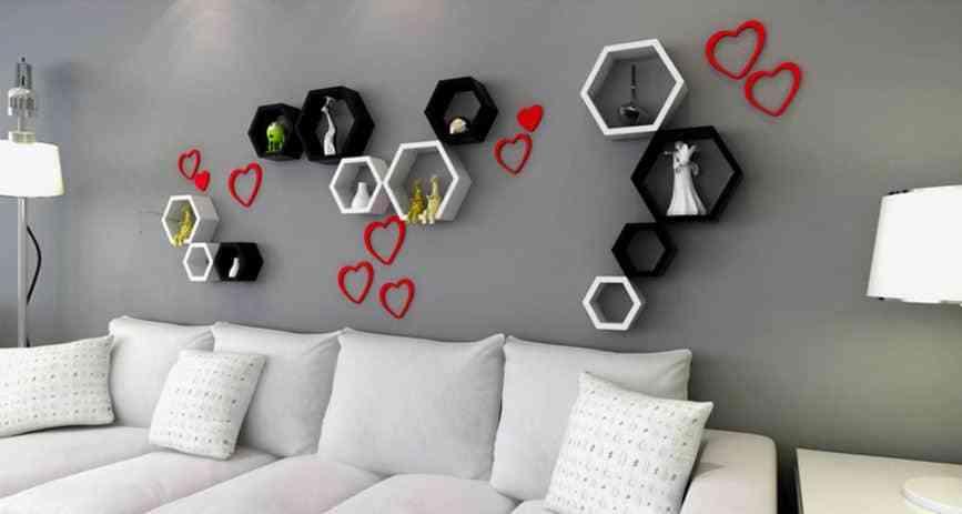 Top 10 mẫu giá sách treo tường đẹp mà đơn giản - 10 gia sach treo tuong dep doc la 1