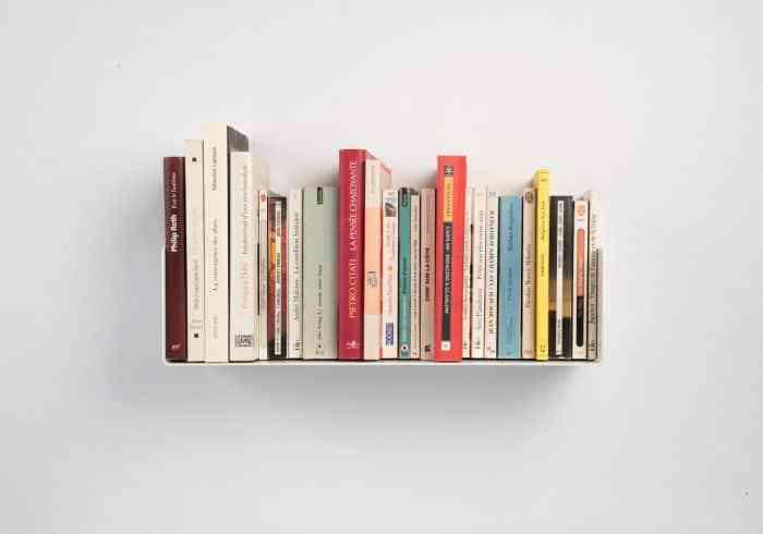 Top 10 mẫu giá sách treo tường đẹp mà đơn giản
