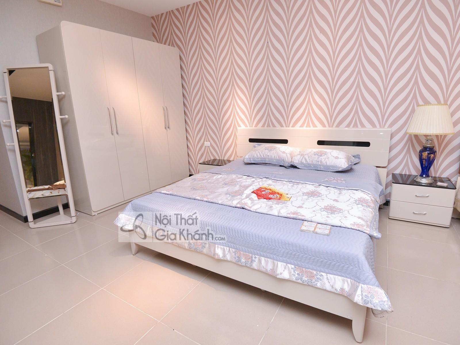 Bộ phòng ngủ gỗ hiện đại đơn giản BN3313-18