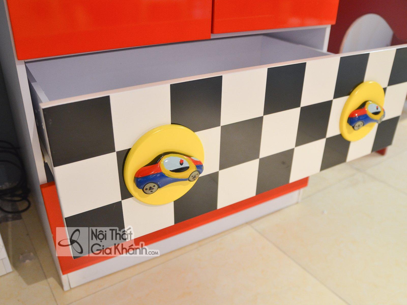 Tủ áo 2 cánh hình xe đua F1 D174