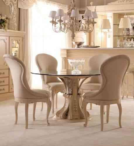 bàn ghế ăn nhập khẩu italia cao cấp