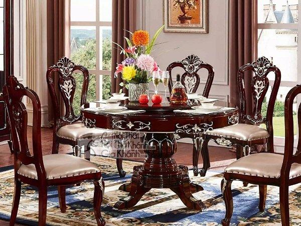 Nội thất Gia Khánh cung cấp các mẫu bàn ăn đa dạng