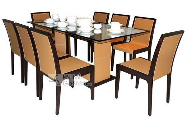 Bàn ghế phòng ăn 8 ghế