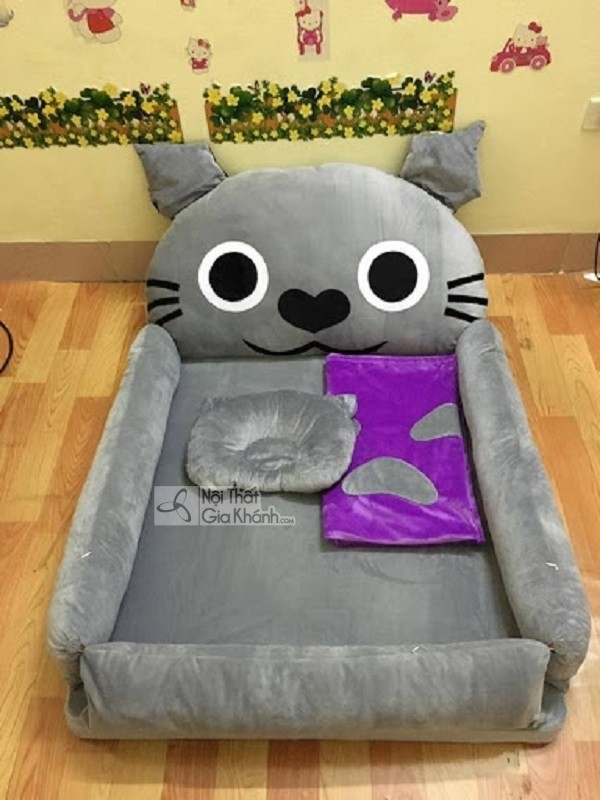 giường ngủ cho bé hình Toroto