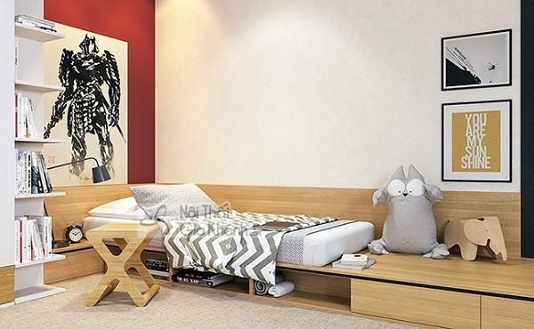 giường ngủ hiện đại cho bé