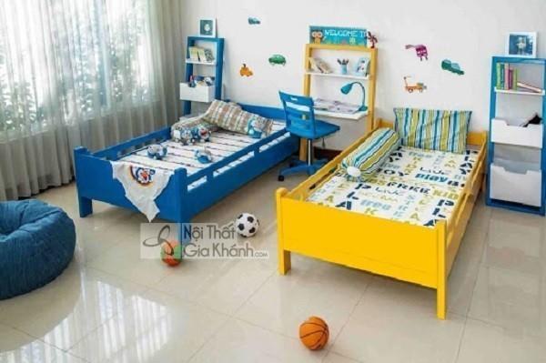 giường cho bé bằng gỗ