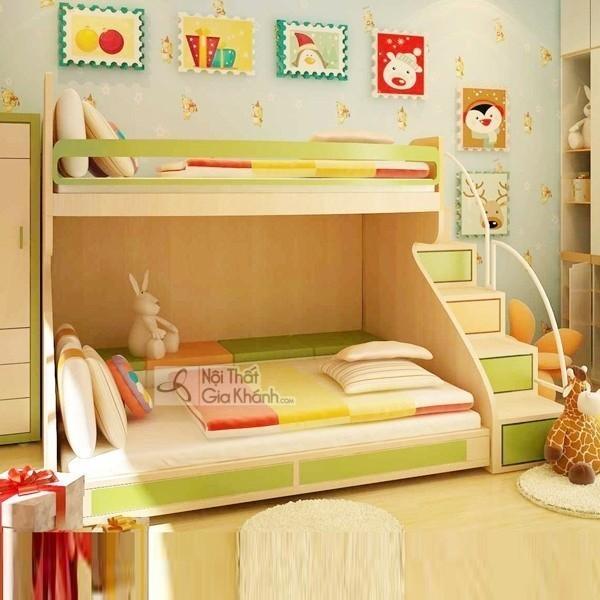 7 bí quyết siêu chuẩn giúp ba mẹ chọn giường ngủ trẻ em ưng ý - giuong ngu tre em dep gia re nhat 20