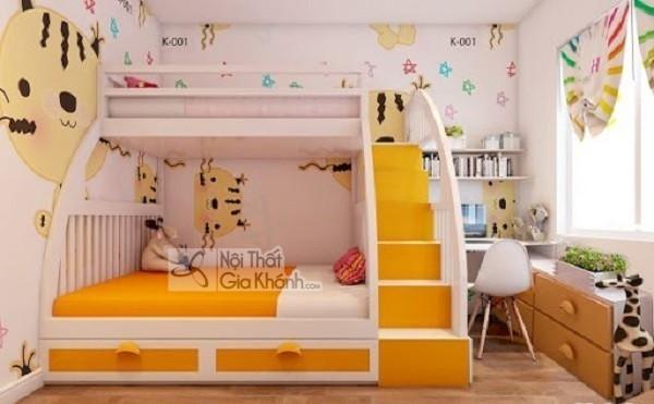 7 bí quyết siêu chuẩn giúp ba mẹ chọn giường ngủ trẻ em ưng ý - giuong ngu tre em dep gia re nhat 21