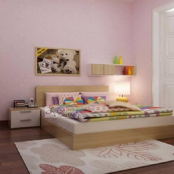 giường ngủ cho bé bằng gỗ