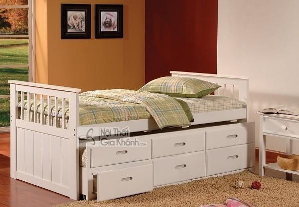 giường hộp hiện đại cho bé