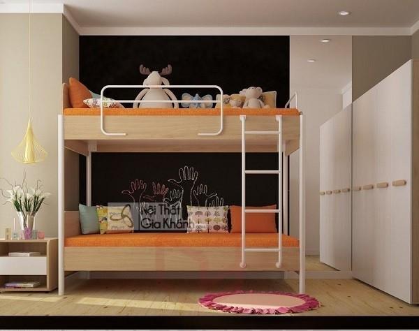 7 bí quyết siêu chuẩn giúp ba mẹ chọn giường ngủ trẻ em ưng ý - giuong ngu tre em dep gia re nhat 5