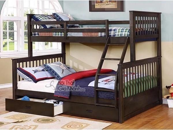 giường ngủ trẻ em thiết kế 2 tầng