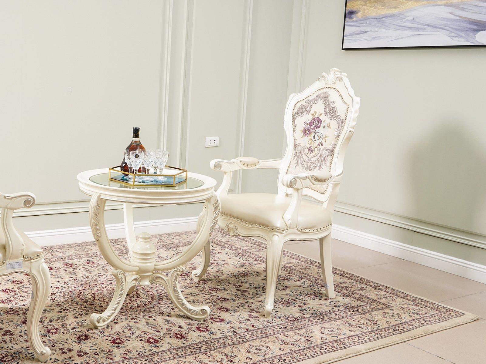 Ghế ăn gỗ nhập khẩu phong cách Tân cổ điển GA8806HCT
