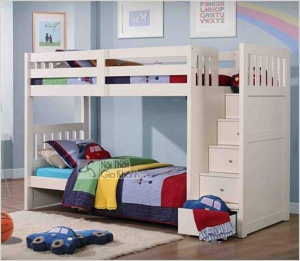 13 mẫu giường kèm bàn học trẻ em và tủ quần áo kết hợp bàn học - 10 mau giuong kem ban hoc tre em tuyet dep 7