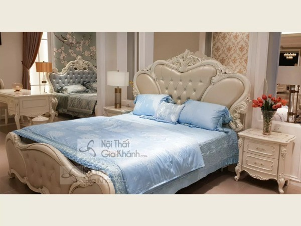 50+ Mẫu giường ngủ đẹp nhất, thiết kế hiện đại siêu hot 2020 - 50 mau giuong ngu dep nhat thiet ke hien dai sieu hot 2020 7
