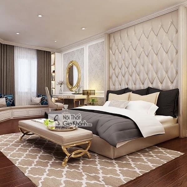 Kích thước giường ngủ tiêu chuẩn - kich thuoc giuong ngu chuan phong thuy phong cach hien dai 1