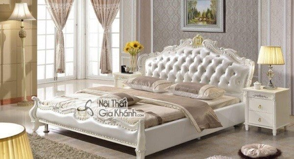 Kích thước giường ngủ tiêu chuẩn - kich thuoc giuong ngu chuan phong thuy phong cach hien dai 4