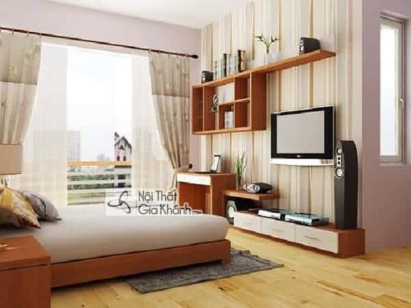 Kích thước giường ngủ tiêu chuẩn - kich thuoc giuong ngu chuan phong thuy phong cach hien dai 6