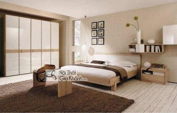 Kích thước giường ngủ tiêu chuẩn - kich thuoc giuong ngu chuan phong thuy phong cach hien dai 8