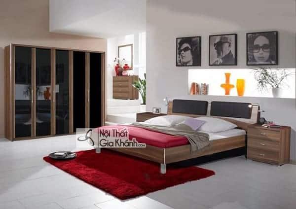 Kích thước giường ngủ tiêu chuẩn - kich thuoc giuong ngu chuan phong thuy phong cach hien dai 9