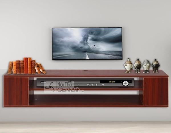 Các mẫu kệ tivi treo tường đẹp, tiết kiệm diện tích - cac mau ke tivi treo tuong dep tiet kiem dien tich 17