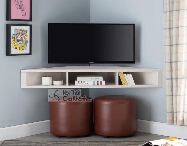 Các mẫu kệ tivi treo tường đẹp, tiết kiệm diện tích - cac mau ke tivi treo tuong dep tiet kiem dien tich 31