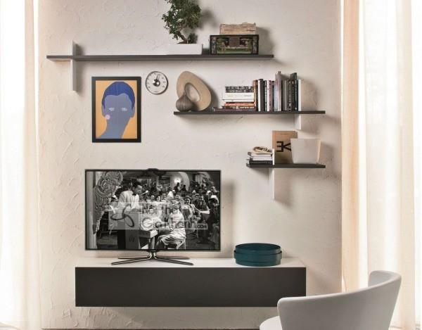 Các mẫu kệ tivi treo tường đẹp, tiết kiệm diện tích - cac mau ke tivi treo tuong dep tiet kiem dien tich 32