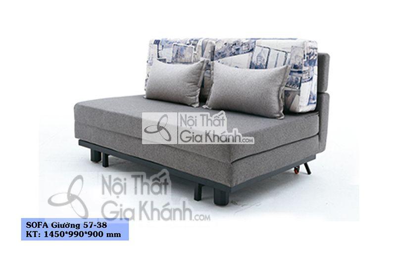 Sofa giường - Ghế Sofa nhỏ đa năng SF57-38 - sofa giuong ghe sofa nho da nang sf57 38
