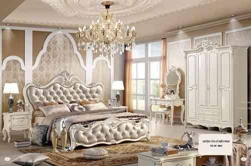 Trang trí giường cưới đẹp cho phòng tân hôn - 5 mau giuong hot nhat mua cuoi nam nay