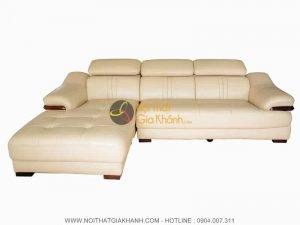 Sofa da 2 băng góc phải 6726K