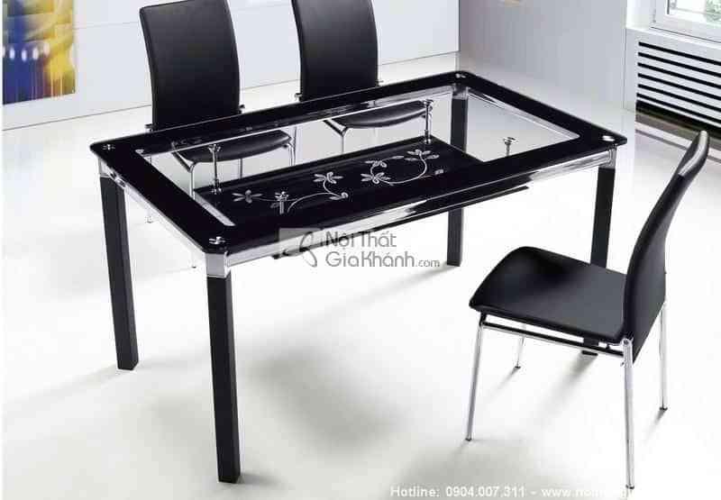 Những bộ bàn ăn 4 ghế đẹp và địa chỉ mua bàn ăn 4 người Hà Nội - ban an 2 tang T295