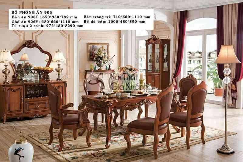 Tủ rượu 2 cánh gỗ Gõ Đỏ cao cấp 906TR2 - ban an chu nhat go go do cao cap 906ba1.65