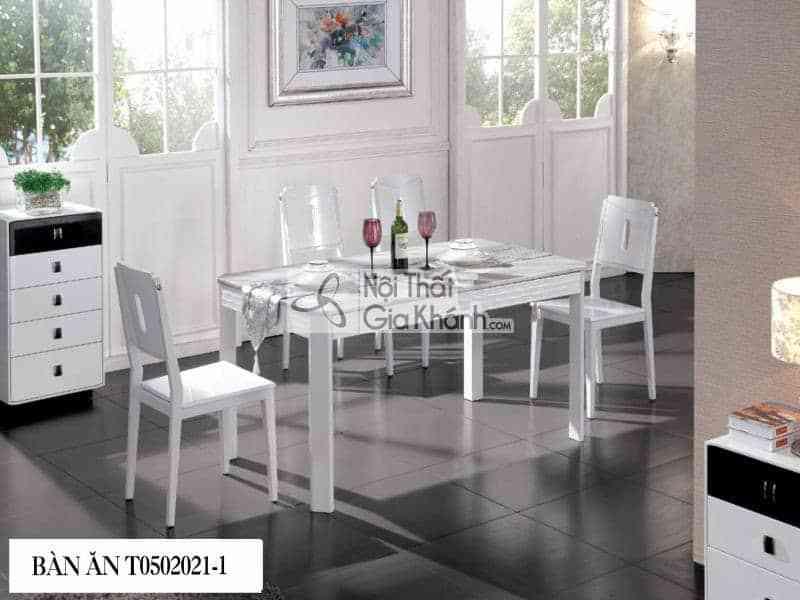 bàn ăn mặt đá hiện đại T0502021-1