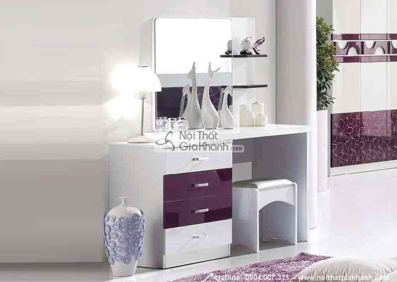 ban trang diem ghe lovely hd217c - Bộ phòng ngủ Lovely gỗ công nghiệp HĐ217BG