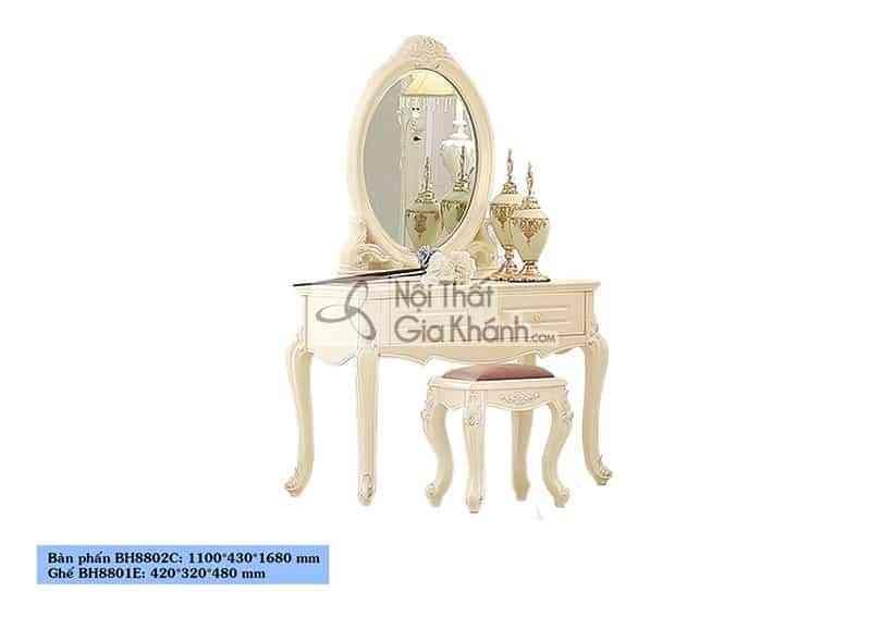Bộ phòng ngủ tân cổ điển giá rẻ BH01BG
