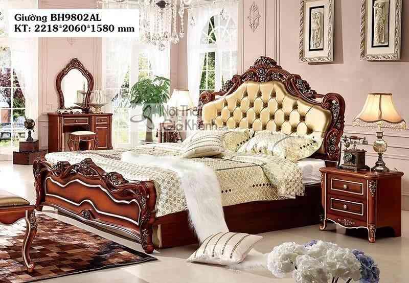 Bộ phòng ngủ tân cổ điển giá rẻ BH05BG