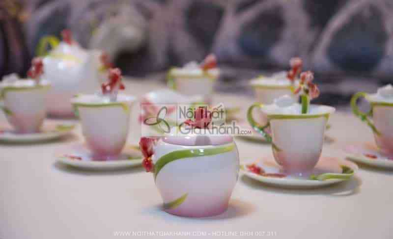 Bộ ấm chén pha trà sang trọng và đẳng cấp 06047