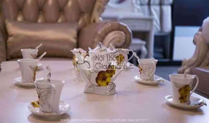 Bộ ấm và tách pha trà đạo cao cấp 08031