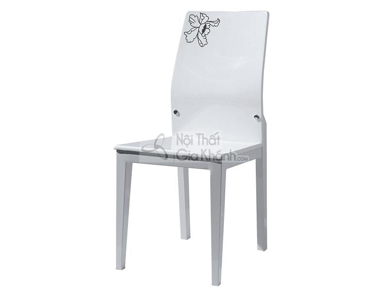 Bộ bàn ăn mặt đá màu trắng T0508081
