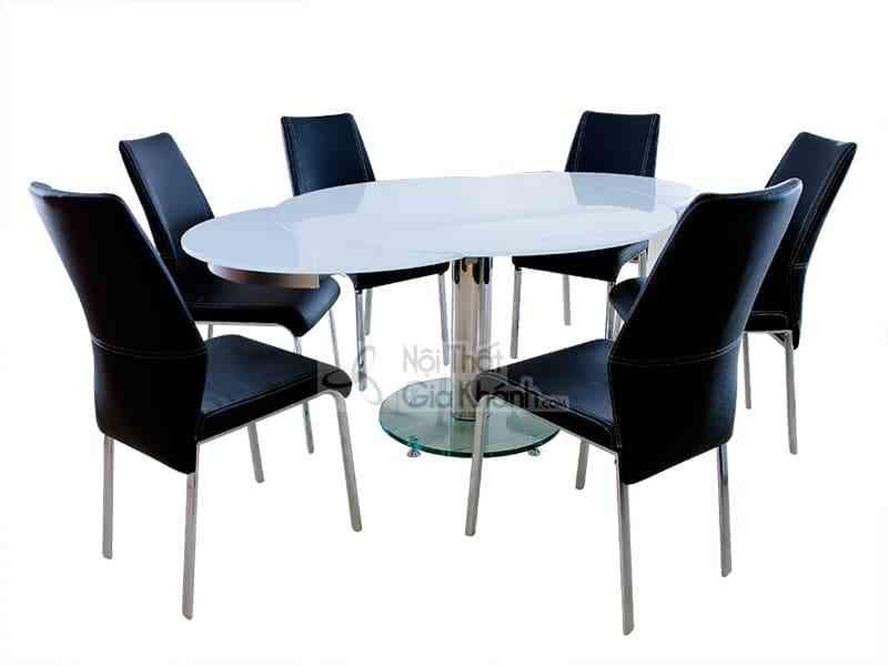 Top những bộ bàn ăn 6 ghế giá rẻ Hà Nội vạn người mê - bo ban ghe da nang mat kinh l8181