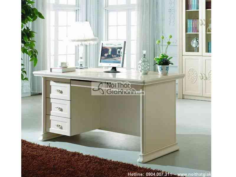 Bộ bàn làm việc cổ điển A613
