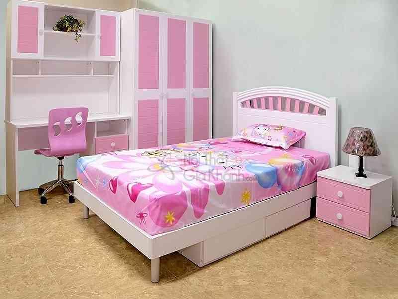 bo phong ngu dep cho con gai yeu 913 - Bộ phòng ngủ đẹp cho con gái yêu 913