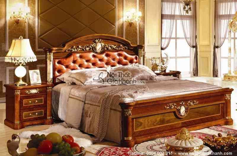 Giường ngủ phong cách cổ điển KH510A