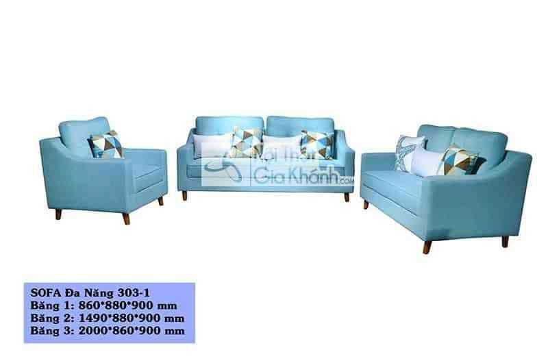 Bộ sofa đa năng 3 băng SF303-1 - bo sofa da nang 3 bang sf303 1