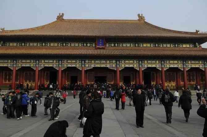 Tìm hiểu các công trình kiến trúc cổ đại phương Đông - Tử cấm thành