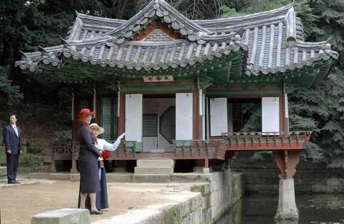 Tìm hiểu các công trình kiến trúc cổ đại phương Đông - Cung điện Changdeok