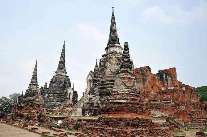 Tìm hiểu các công trình kiến trúc cổ đại phương Đông - Kinh đô Ayutthaya