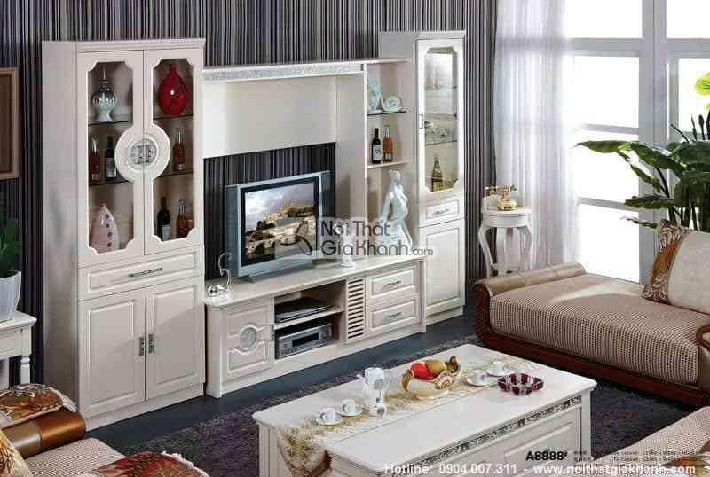Các mẫu kệ tivi đẹp cho phòng khách