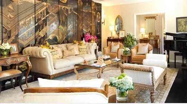 Các mẫu nội thất phòng khách tân cổ điển châu âu - cac mau noi that phong khach tan co dien chau au 2